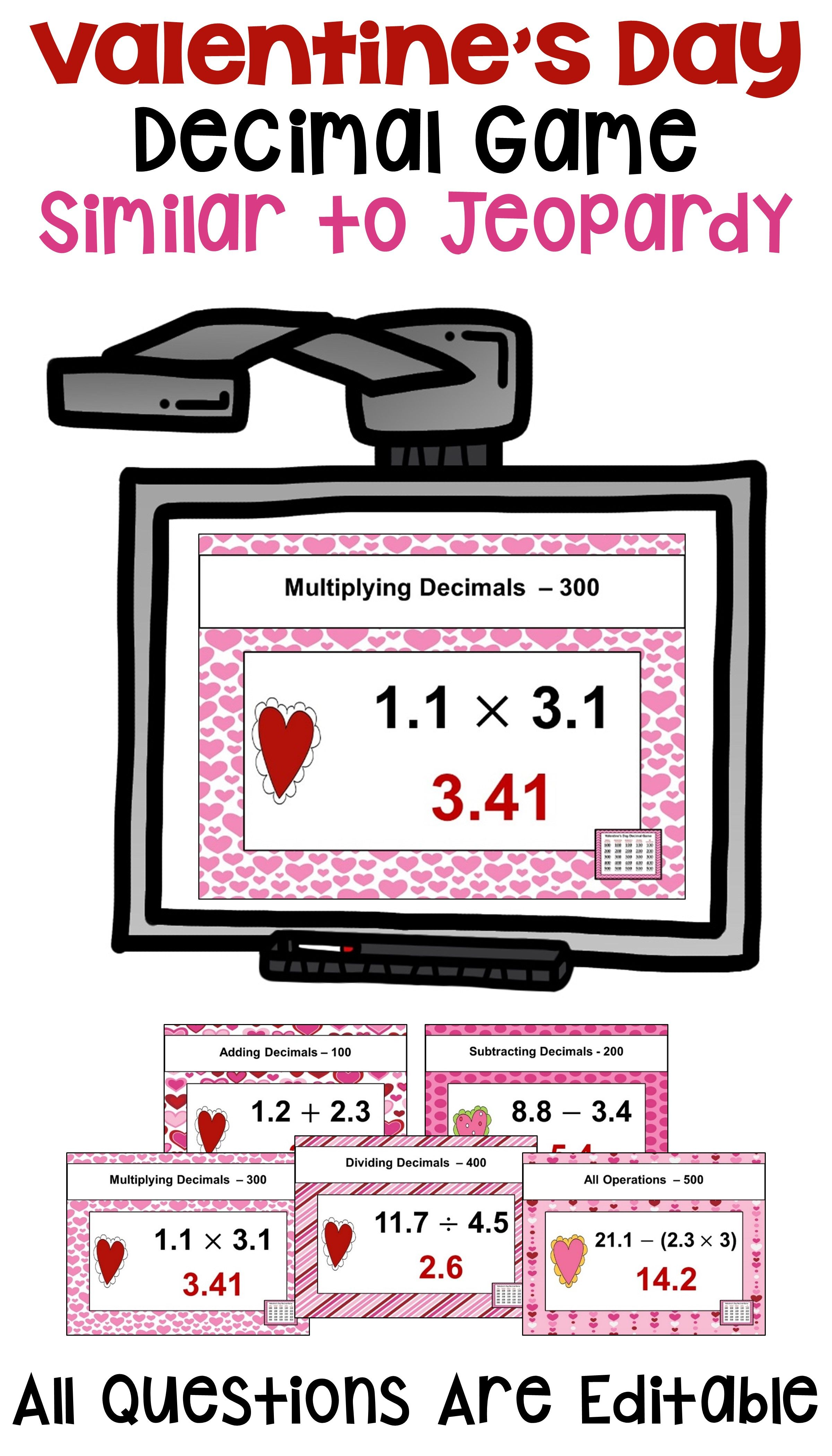 Valentine S Day Math Is Fun For Kids With This Powerpoint