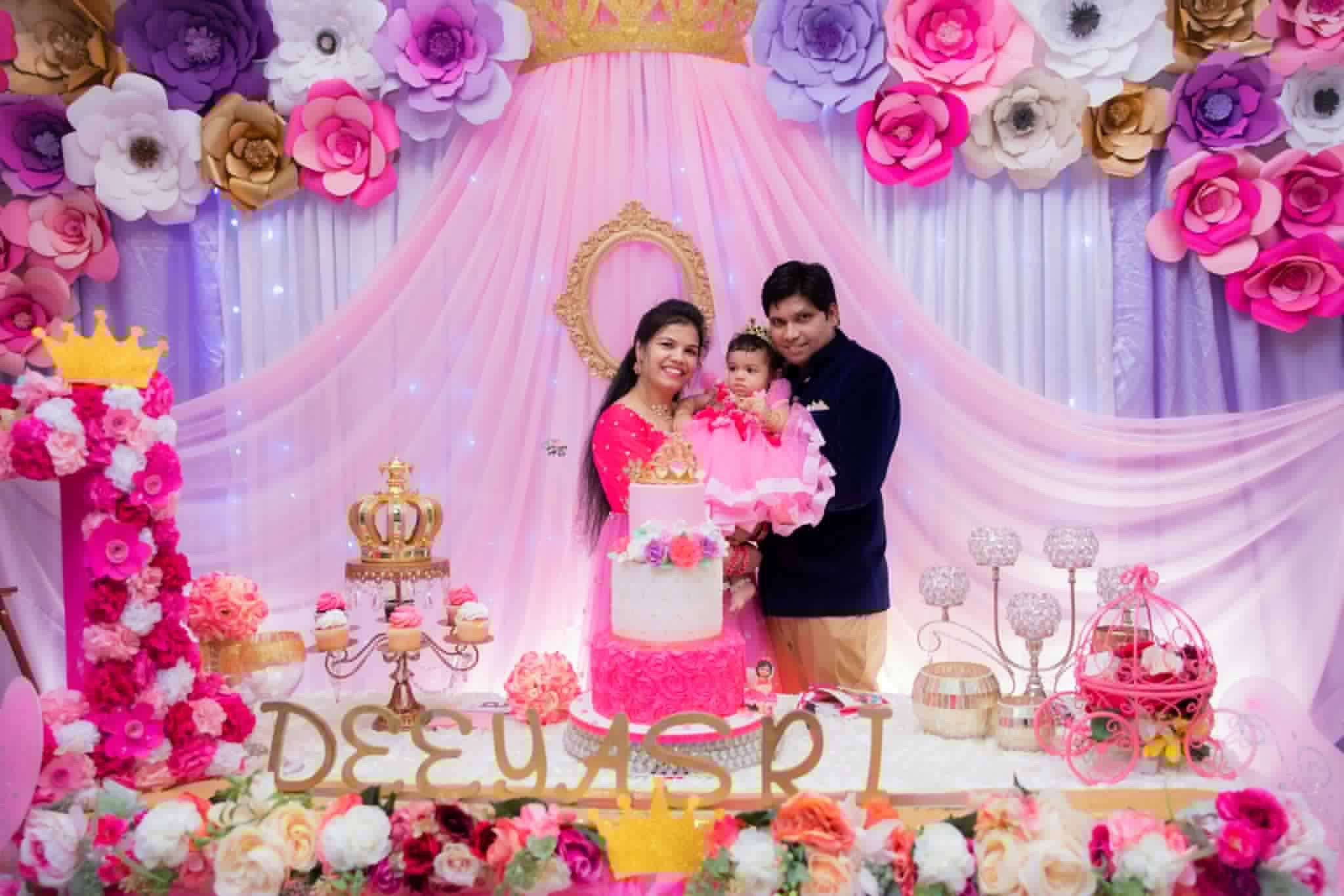 Pin by Bhoomi's on decorations Princess birthday party