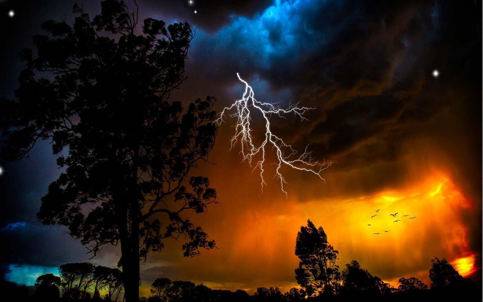 fire lightning tornado wallpaper - Google Search ...