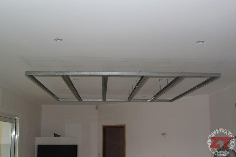 Extremement Brico Creation D Un Faux Plafond Avec Ruban Led Et
