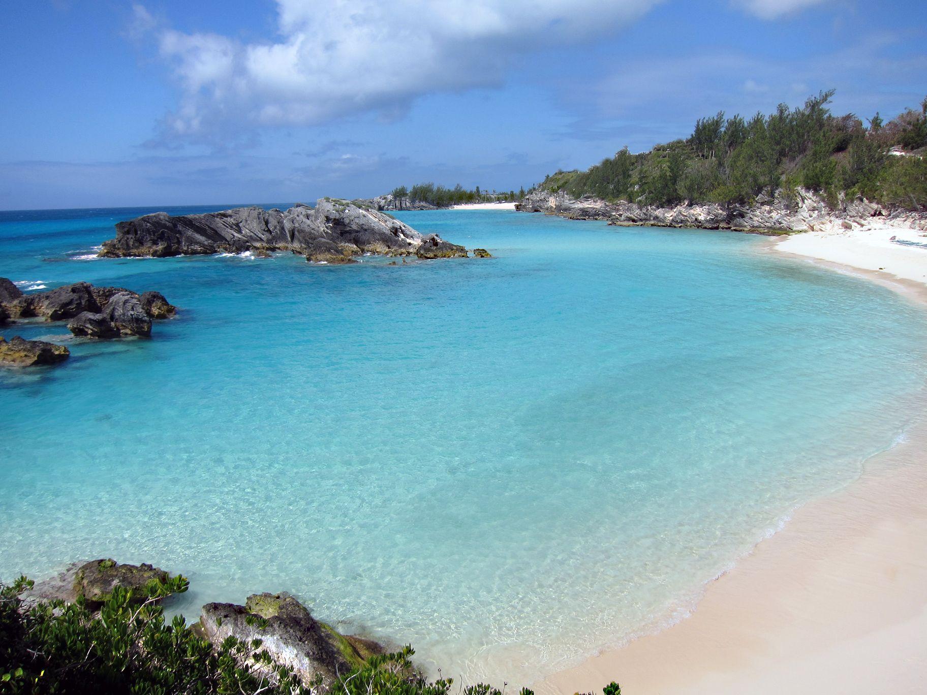 Beach Horseshoe Bay Bermuda