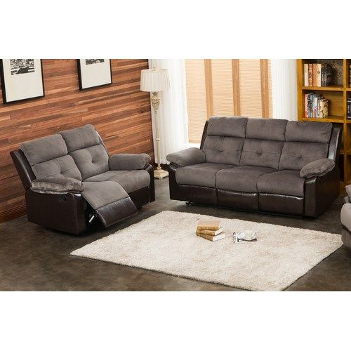 New Sherry 2 Piece Living Room Set By Living In Style