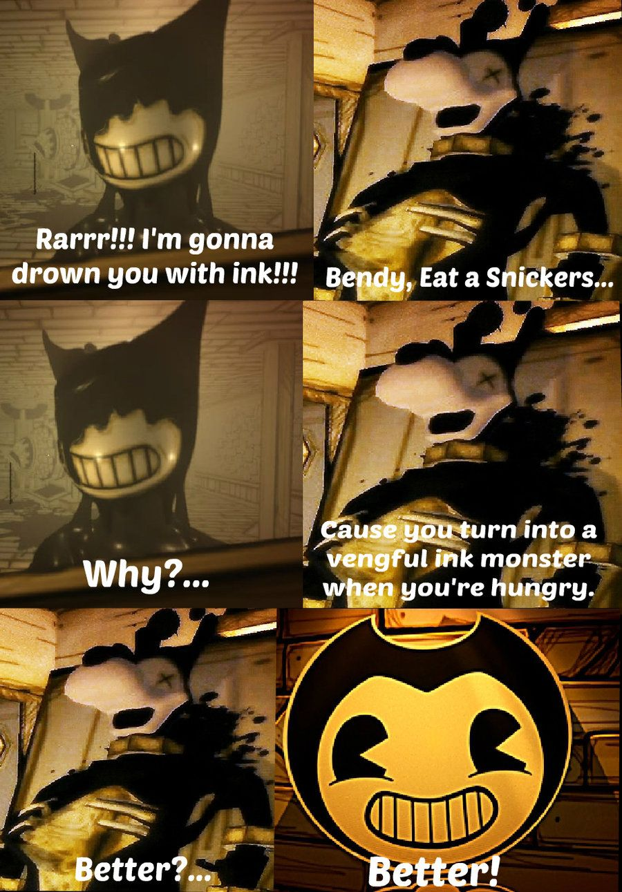 Image Result For Bendy And The Ink Machine Comic Bendy And The