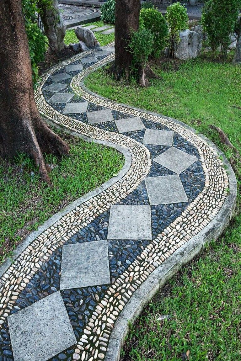 Photo of 40+ Exciting DIY Garden Path and Walkways Ideas