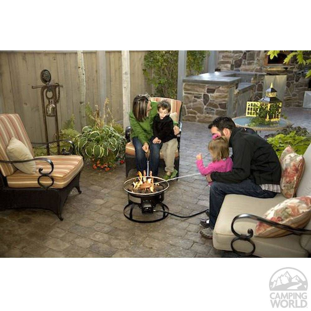 Redwood Portable Propane Fire Pit Camp Chef Gclogd Campfire Outdoor Fireplaces Portable Fire Pits Fire Pit Portable Propane Fire Pit