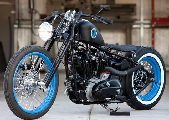 Harley Ironhead Sportster 73- The one I owned never looked this good!-gd