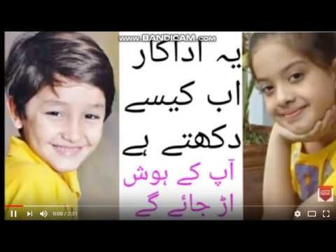Best Pakistani Child Actors Who Grow Up So Beautiful 2018 400 x 300