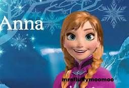 Day 2. Favorite Princess: Princess Anna from Frozen