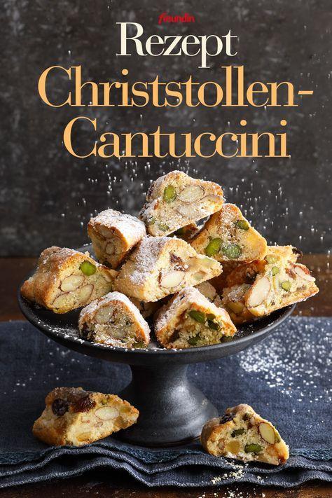 Johann Lafers Plätzchen-Rezept für Christstollen-Cantuccini | freundin.de