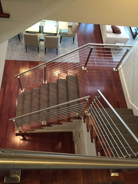 Genial Stainless Steel Cable Railing By Houston Stair Company