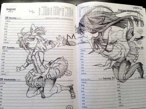 55 Beautiful Anime Drawings | Cuded