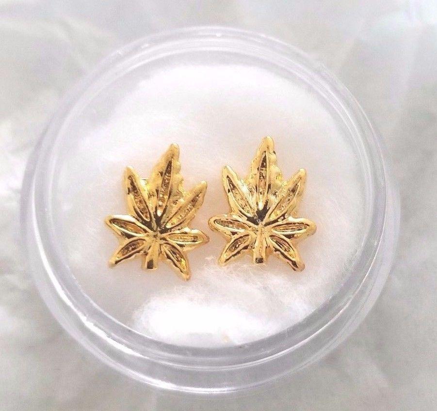 2 piece WEED nail art charm set | Nail Art Elegance , beautiful nail ...