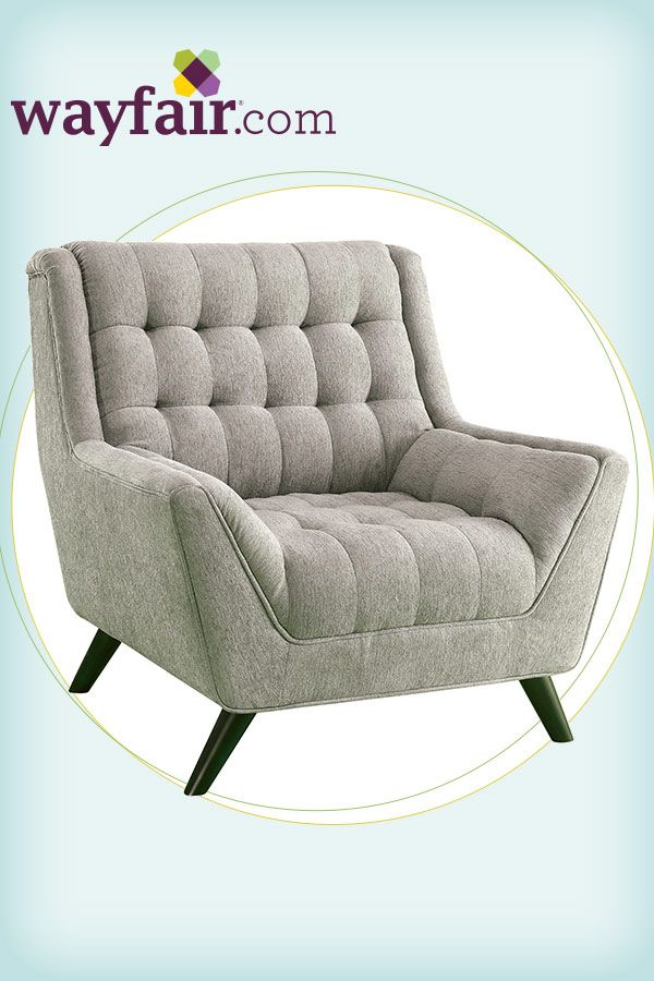 Make a statement in your living room with this retro-modern arm chair. Get up to 70% ...