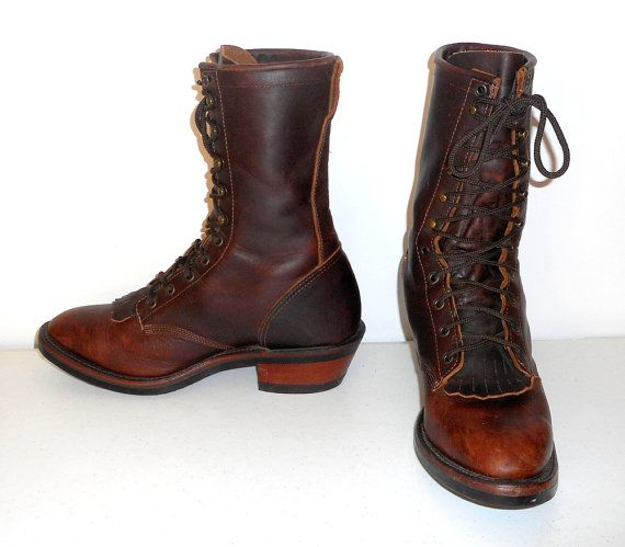 7c138e816ad Mens 10 D Boulet Packer Boots Lace Up Lacers by honeyblossomstudio ...
