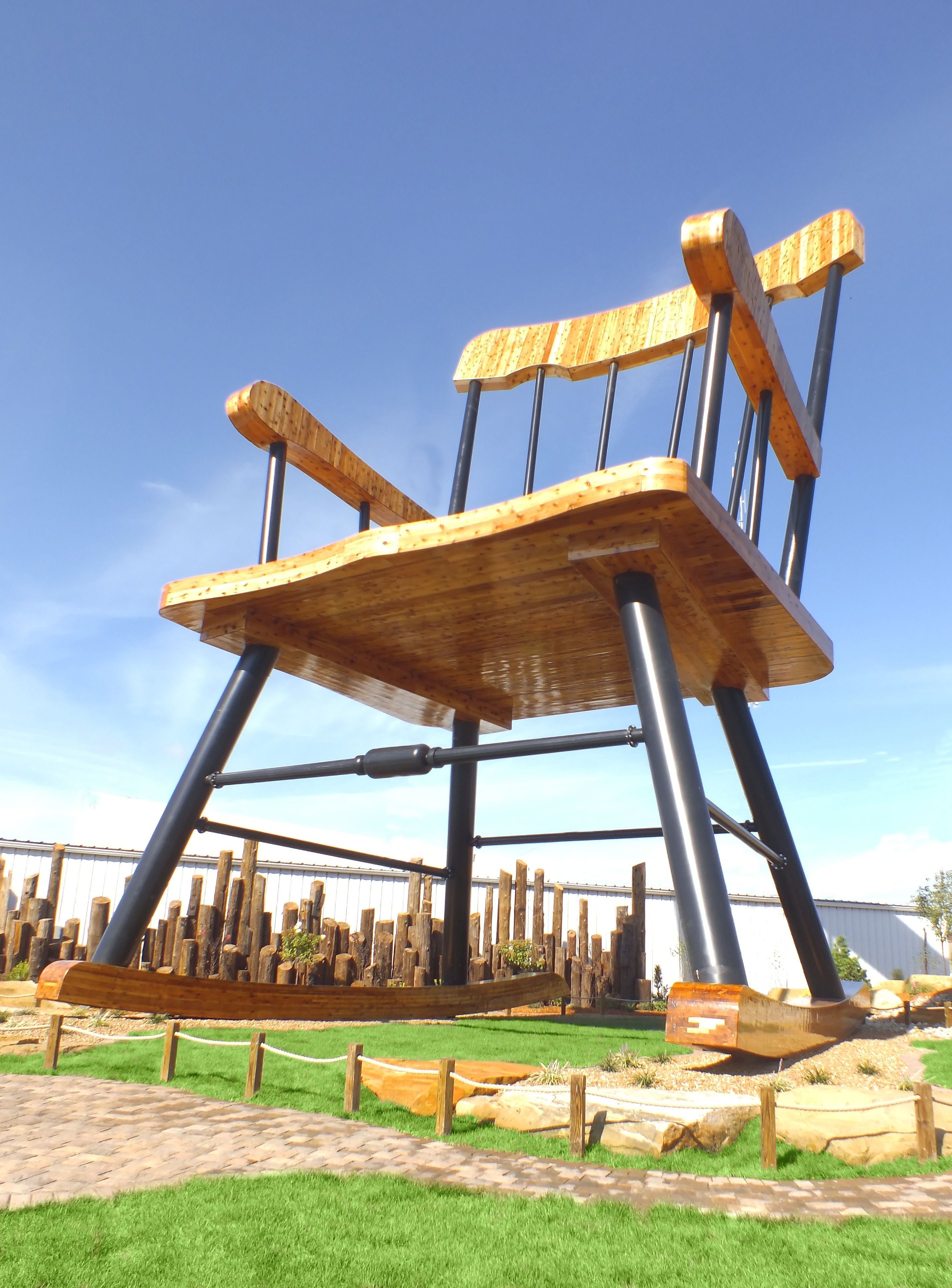 World S Largest Rocking Chair Casey Illinois Big