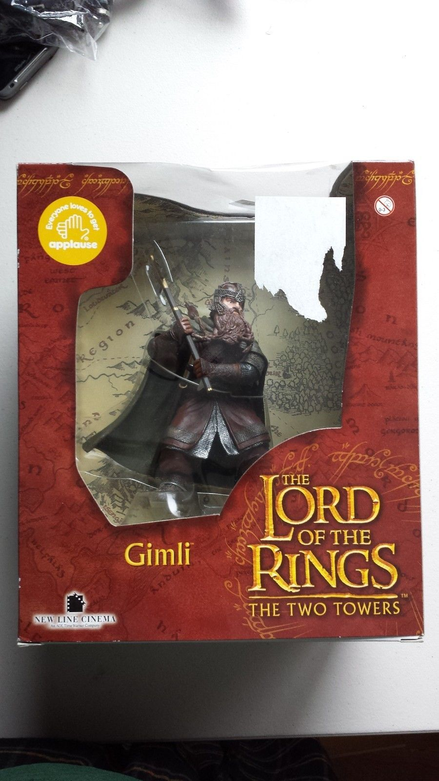 United lotr images uc1380aslb anduril jpg - The Lord Of The Rings The Two Towers Gimli Action Figure By Applause