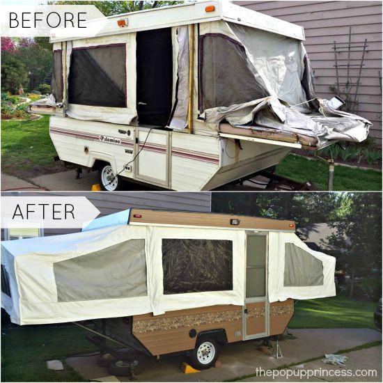 Robert S Pop Up Camper Remodel Tent Trailers Remodeled