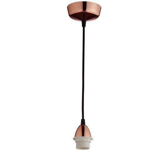 Buy habitat pendel copper ceiling light at argos your online buy habitat pendel copper ceiling light at argos your online shop wall lightsceiling aloadofball Images