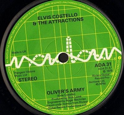 """Elvis costello #oliver's #army/my #funny valentine ada 31 uk radar 1979 7"""" ws ex/,  View more on the LINK: http://www.zeppy.io/product/gb/2/291559137374/"""