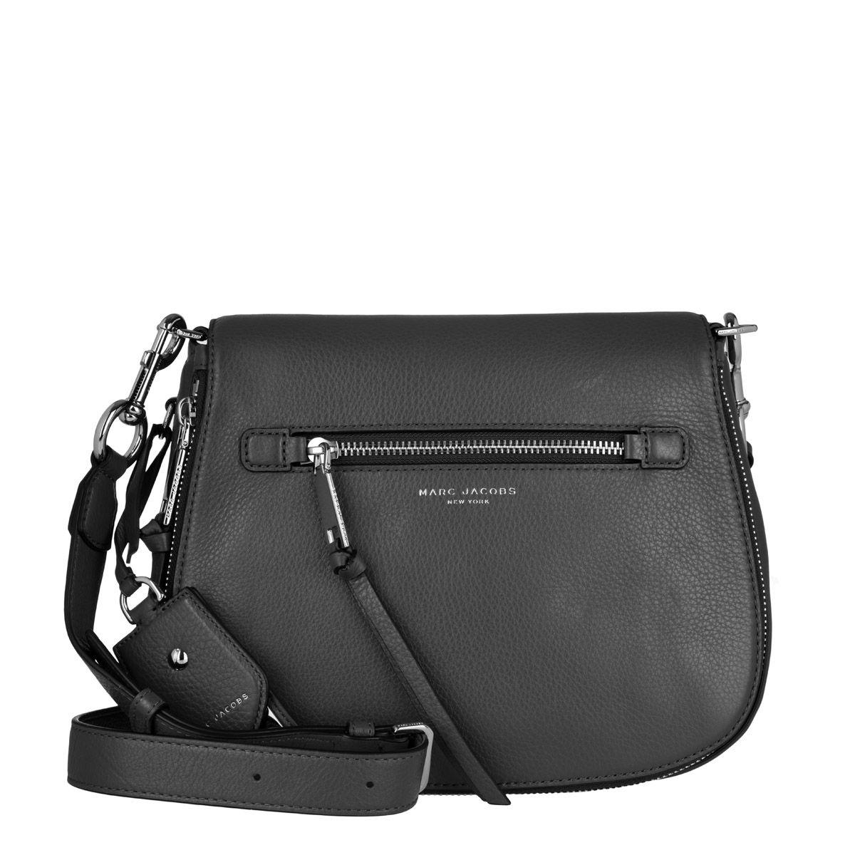 Recruit Saddle Bag Leather Shadow