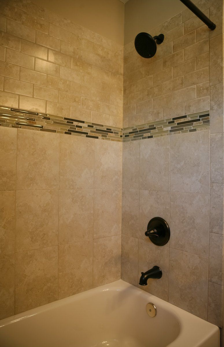 Beautiful tiled shower! #kendallpartnersltd | Bathrooms | Pinterest ...