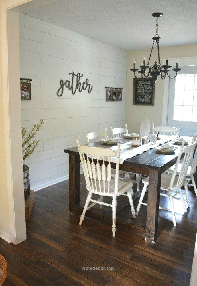 Pin By Wowdecor On Dining Room In 2019 Ship Lap Walls