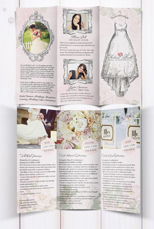 Vintage Wedding Brochure By EnchantingWebdesignsCom  Wedding