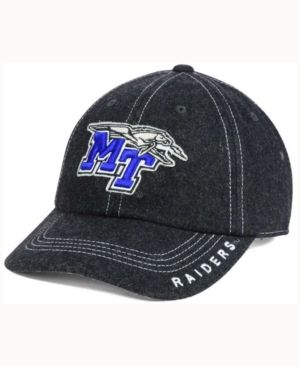 Top of the World Middle Tennessee State Blue Raiders Charles Adjustable Cap - Black Adjustable