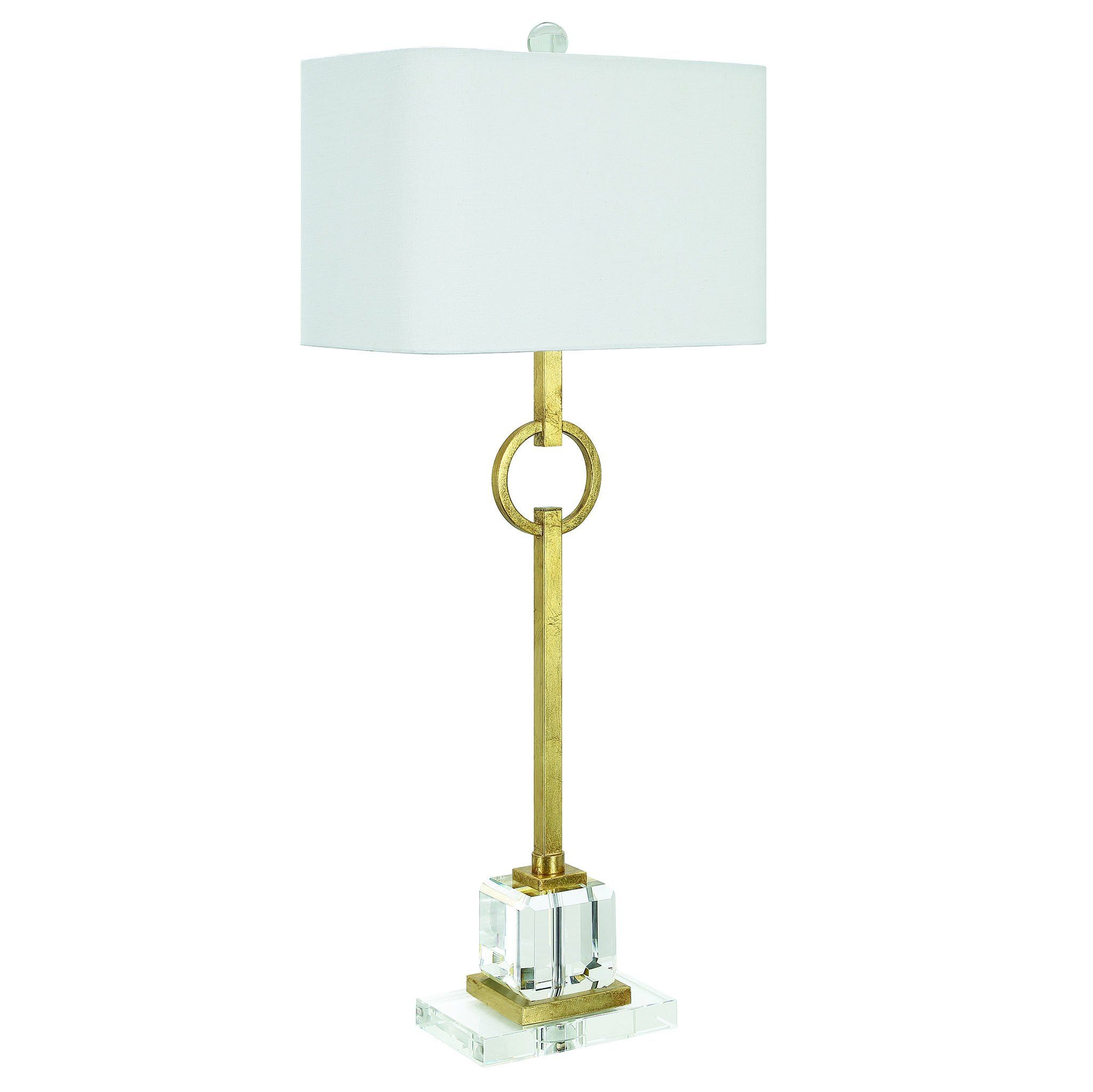 Couture Lighting Elaina Table Lamp Gold Gold Table Lamp Lamp Buffet Table Lamps