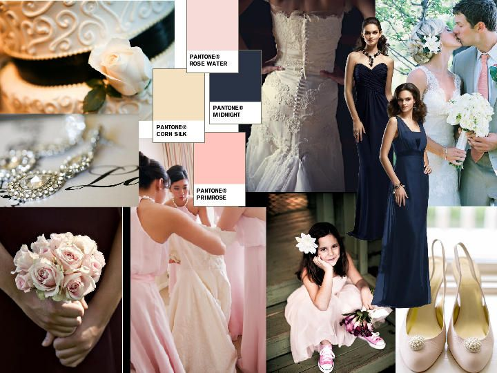 d898449ed40 Vintage pinks   PANTONE WEDDING Styleboard   The Dessy Group ...