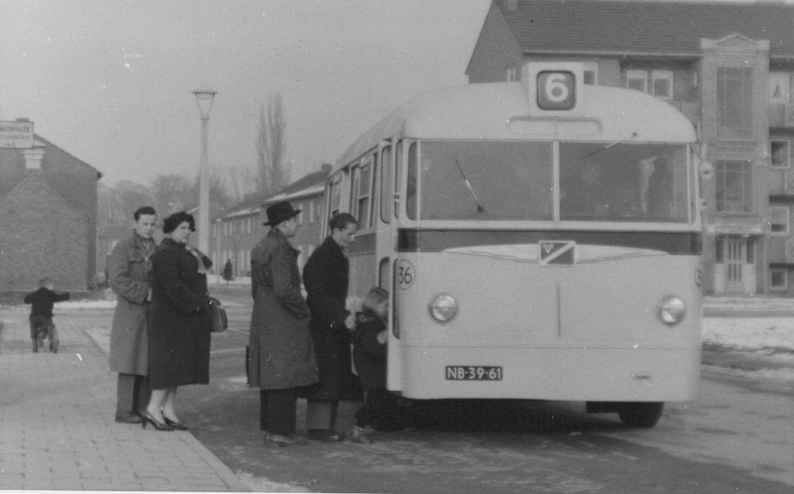 Stadsbus 1955 Maastricht Transport Maastricht Vervoer