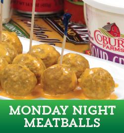 Monday Night Meatballs