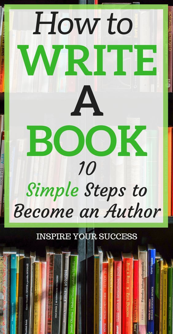 How to Write A Book (10 Simple Steps
