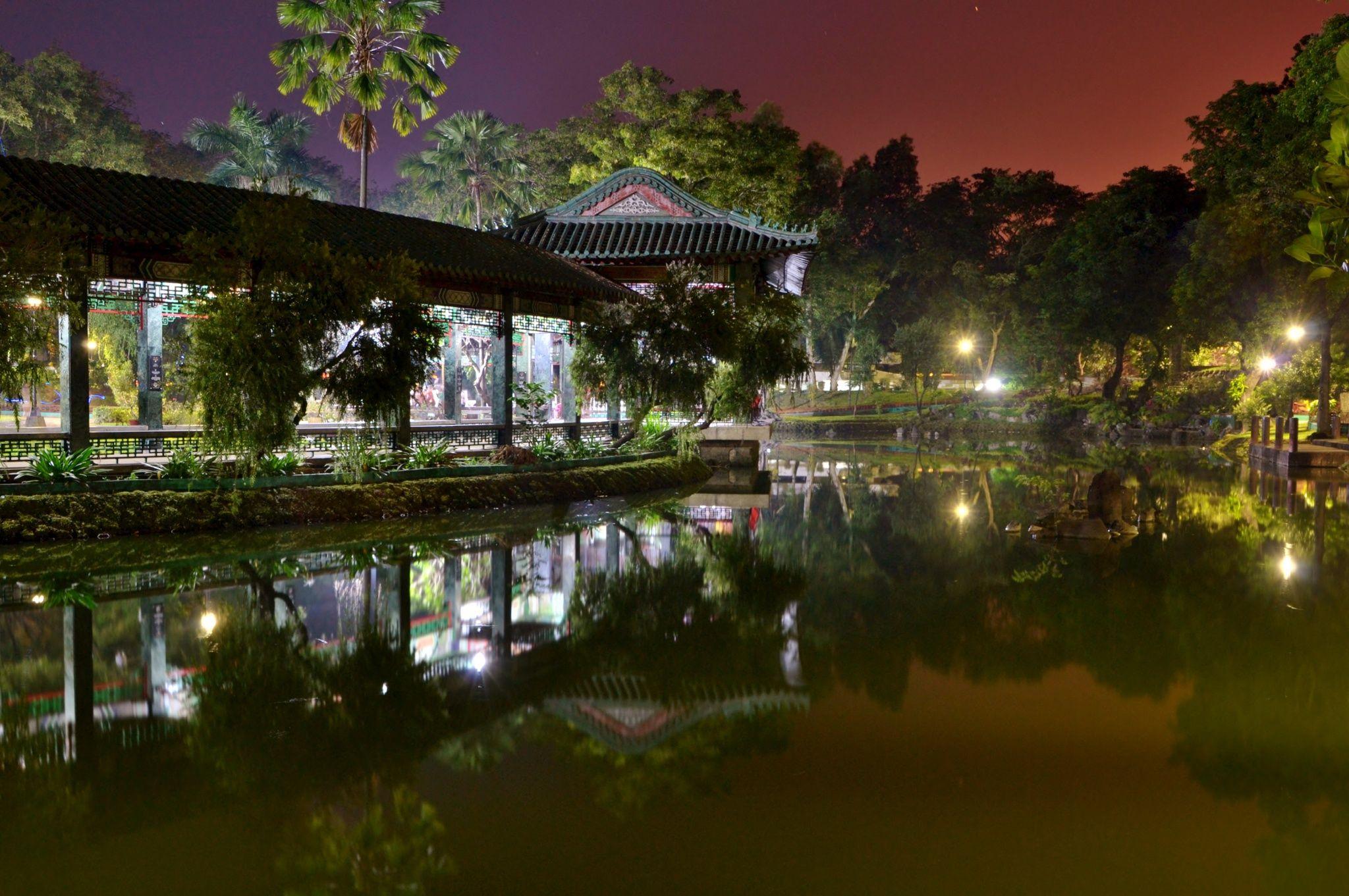 I suggestivi giardini cinesi ospitati nel Rizla Park di Manila ...