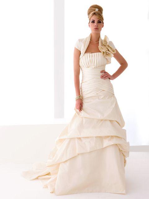 Vestido de Novia Sirena con Chaqueta -- Galvan Sposa | Vestidos de ...