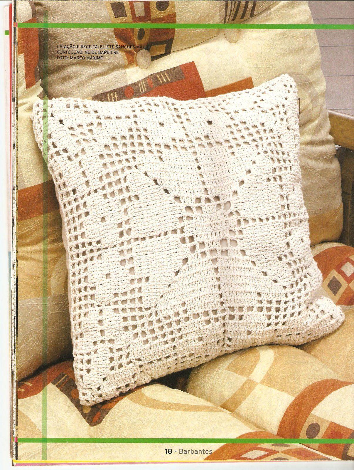 Crochê Fascínio: Almofadas | almohadones | Pinterest | Ganchillo ...