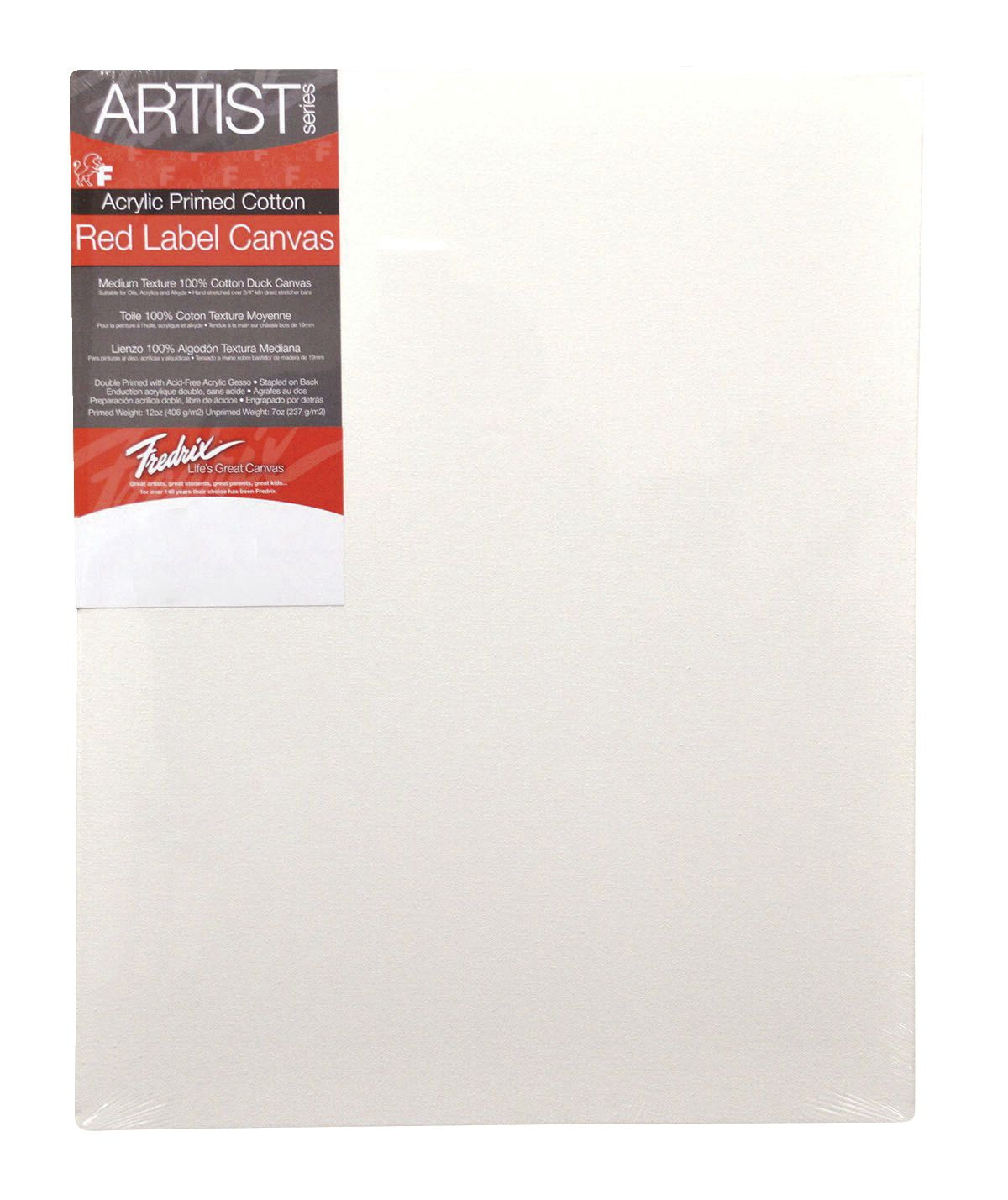 16--- BEST PRICE --- Fredrix Artist Series Stretched Canvas, 24 x 36