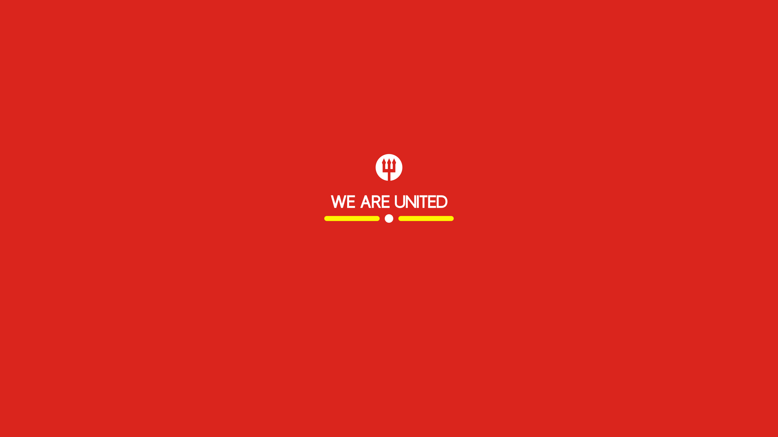 We Are United Simple Manchester United Wallpaper By Hamzah Zein
