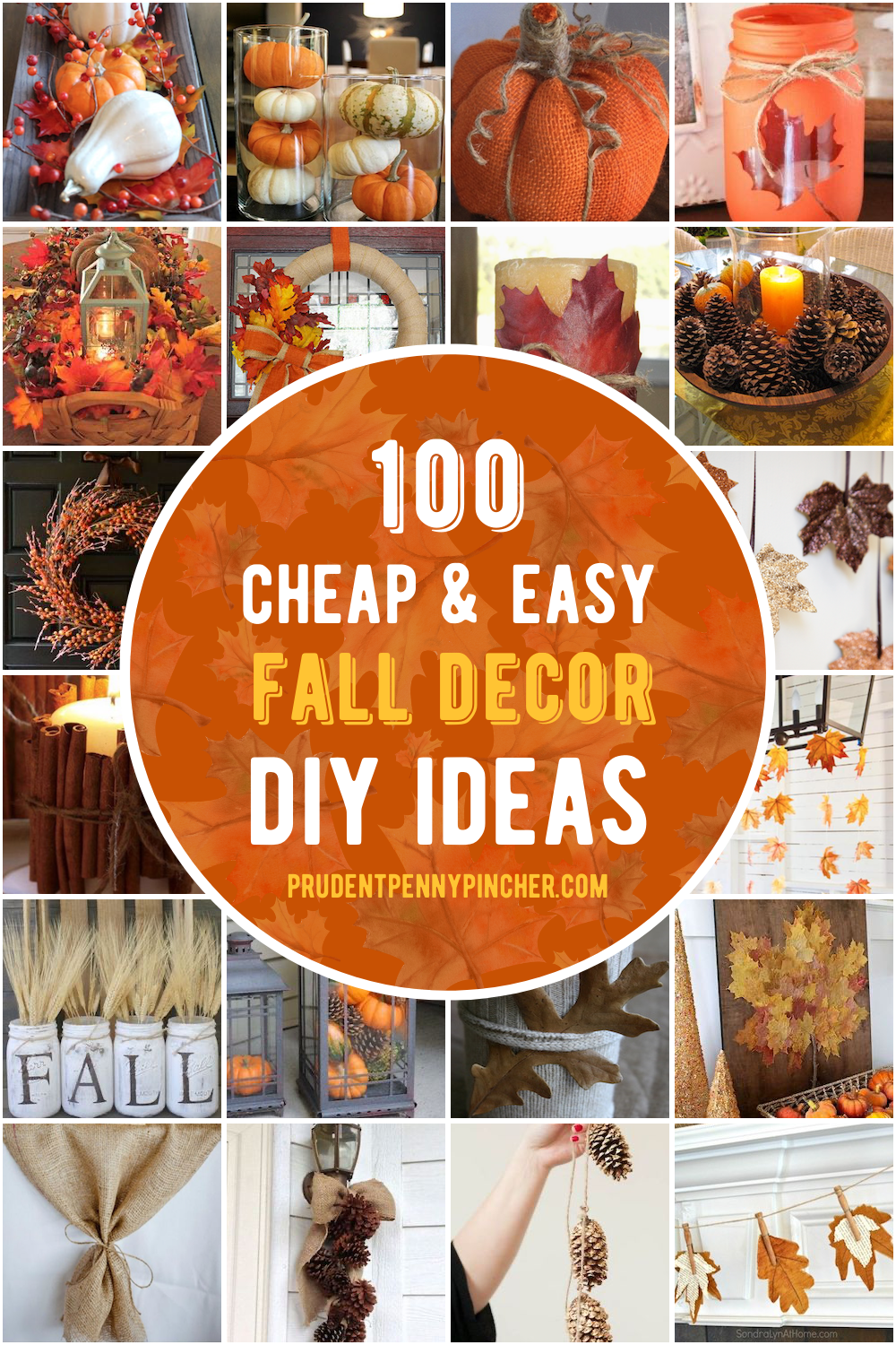 100 Cheap And Easy Fall Decor Diy Ideas In 2020 Easy Diy Fall