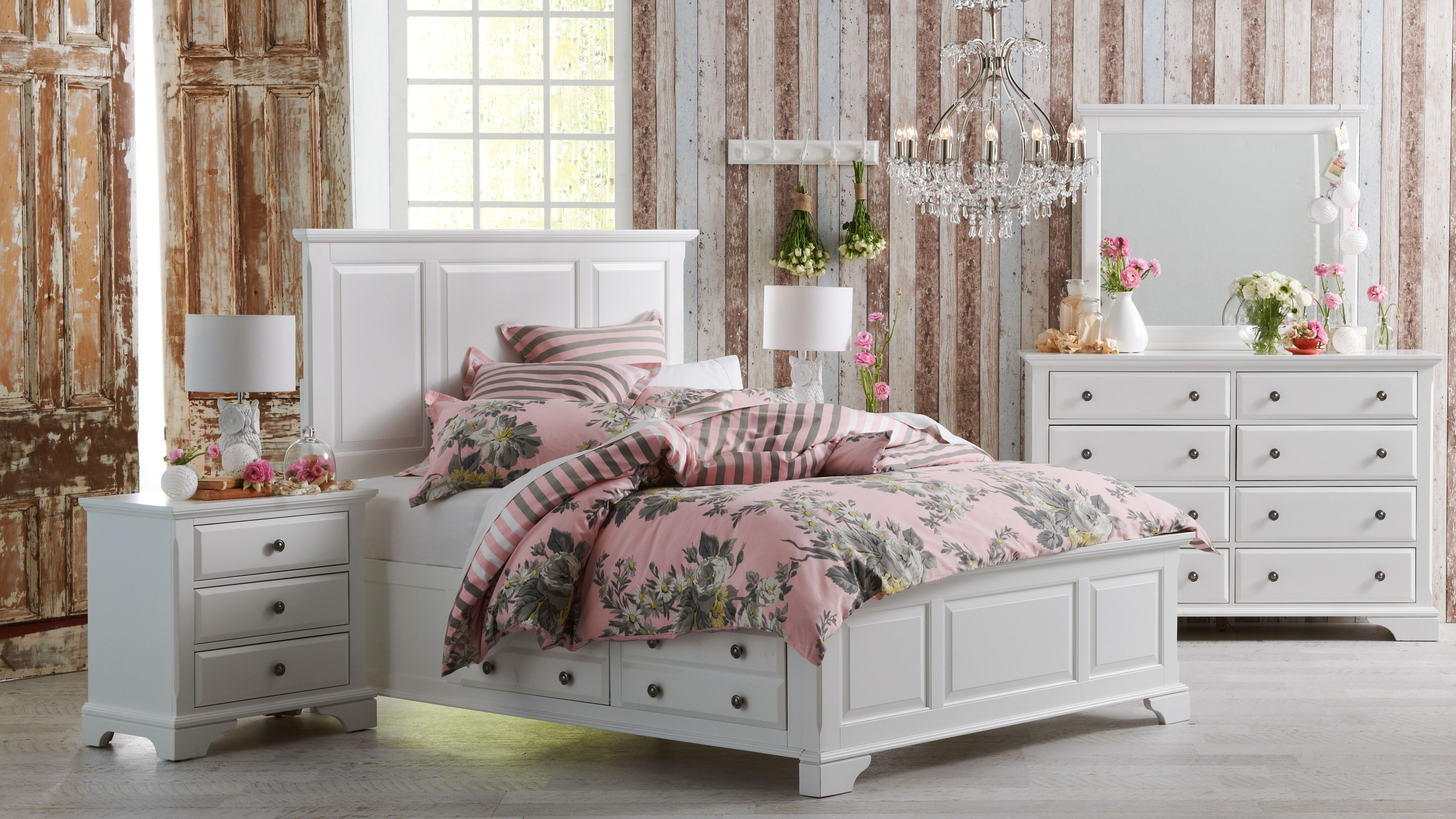 Impression Queen Bed Harvey norman | Farmhouse decor ...