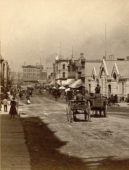 Yesterday S Milwaukee German Market Early 1880s Milwaukee