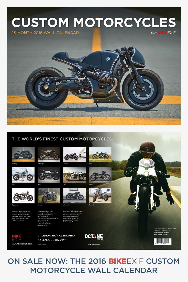 The 2021 Bike EXIF calendar is out! | Bike exif, Motorcycle, Bike