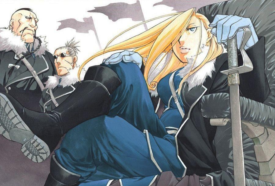 武士道 — Some covers of Fullmetal Alchemist by Hiromu ...