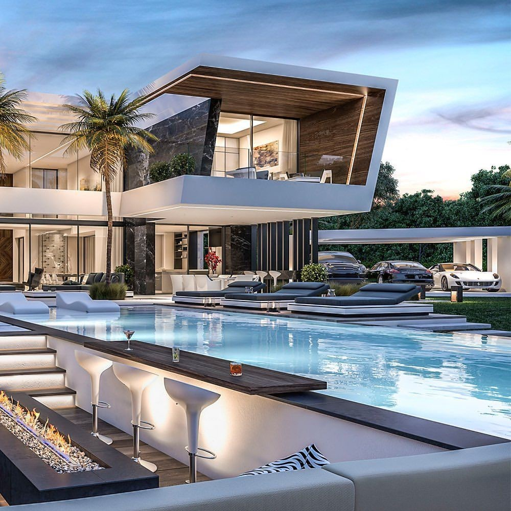 Photo of Villa di lusso, da sogno e più costosa. Le case più belle con piscina – #architettura …