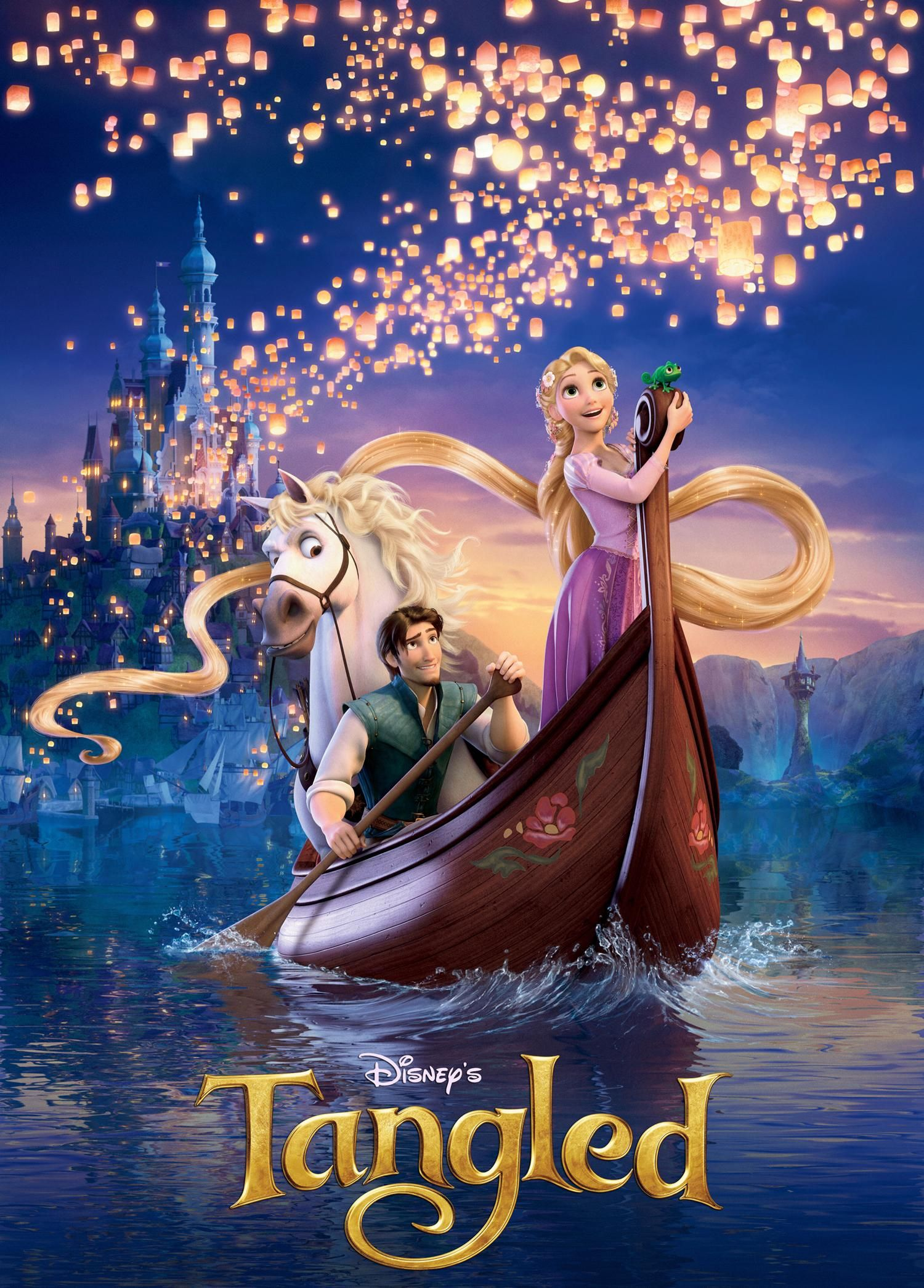 Tangled was just added to Netflix Instant Streaming. Needless to say, I just watched it again. It never grows old. And I cry every time i watch it, in three different parts. <3