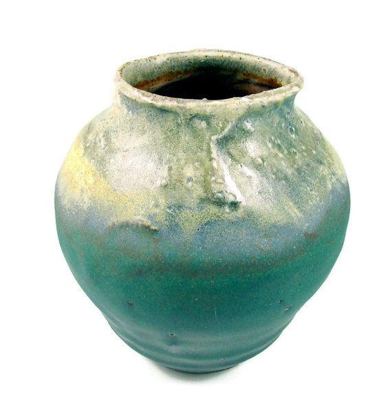 Ceramic Vase Large Decorative Textured Vase Handmade Art Vessel