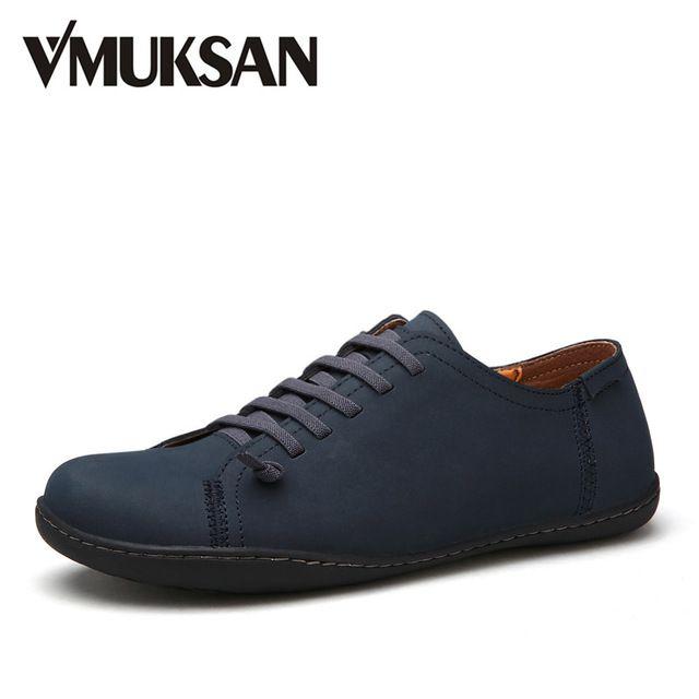 Marque New Style rétro style Chaussures hommes, de haute qualité homme Souliers simple, Derbies Casual Hommes,bleu,42