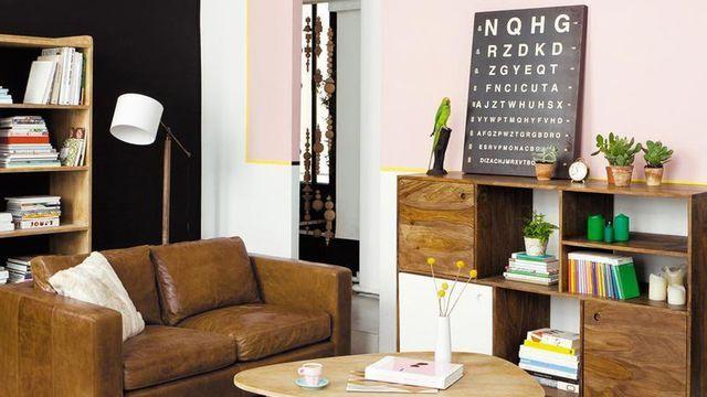 Aménager le salon : les 5 règles à connaître | Convivialité, Pouf ...
