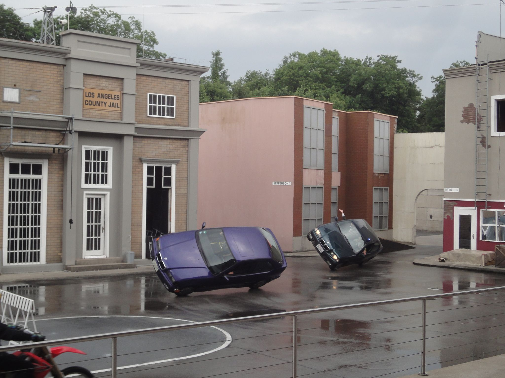 action stunt show im movie park bottrop. Black Bedroom Furniture Sets. Home Design Ideas