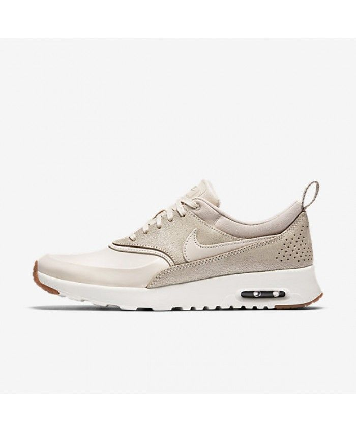 womens nike khaki air max thea textile trainers nz